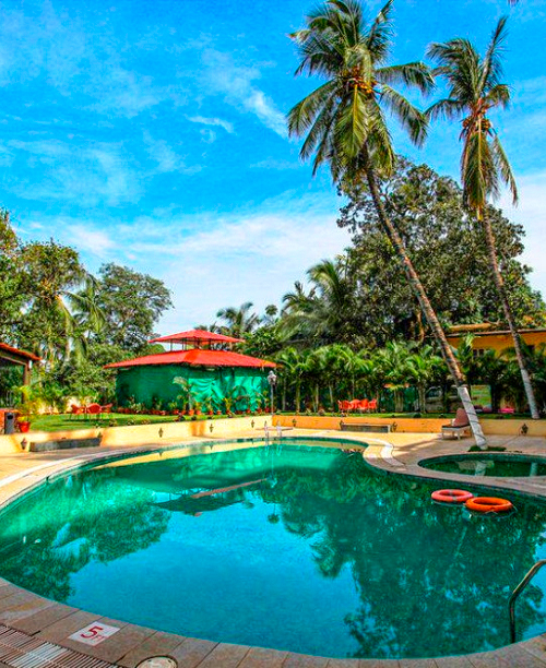GOA (CANDOLIM BEACH) SUKHMANTRA RESORTS & SPA - SPECIAL HONEYMOON PACKAGE