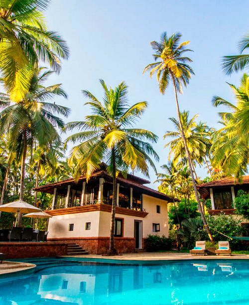 GOA (SOUTH GOA - BOGMALO BEACH) COCONUT CREEK RESORT - SEASONS SPECIAL PACKAGE